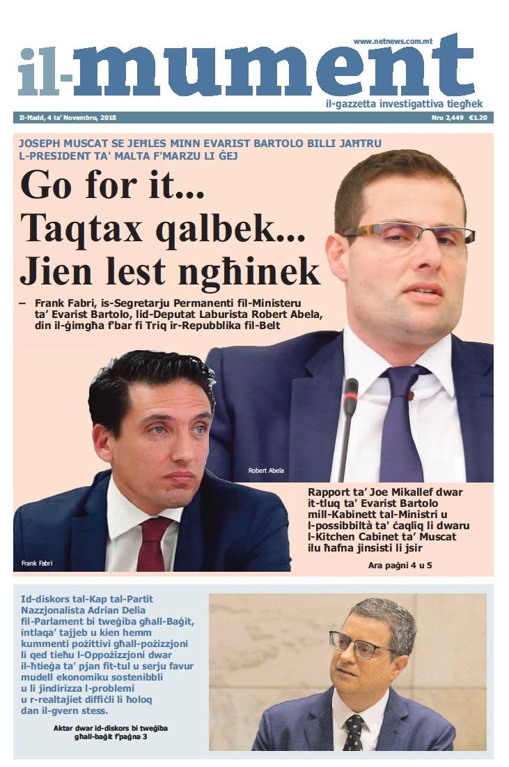 Il Faċċata Ta Il Mument Netnews